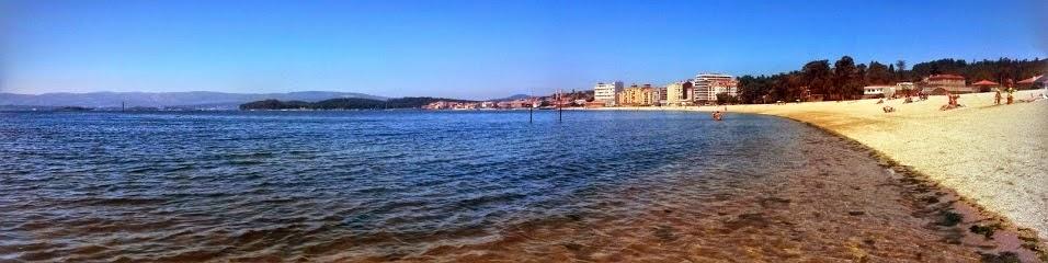 Playa de Compostela de Vilagarcía de Arousa