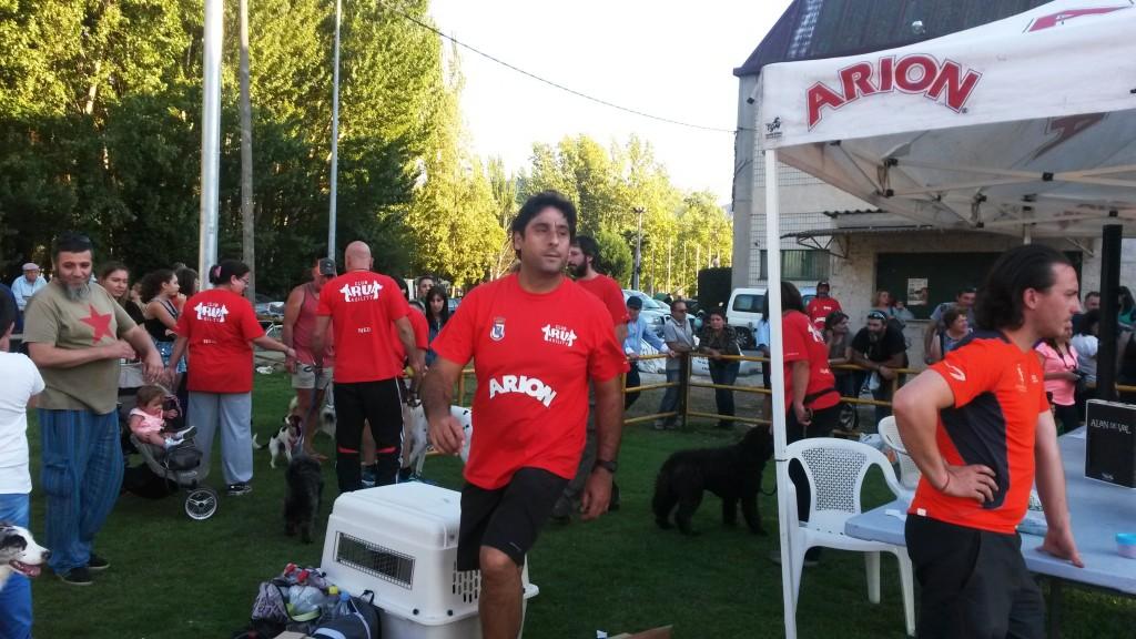 Baldomero Fernández presidente del Club Agility A Rúa