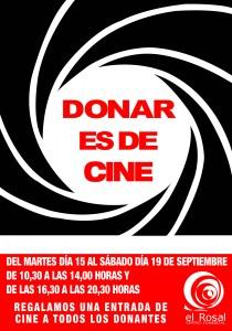 DONAR ES DE CINE_CARTEL