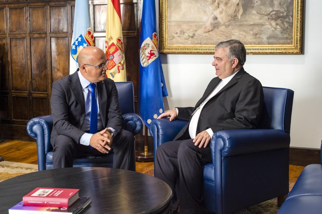 Manuel Baltar e José Rodríguez Carballo
