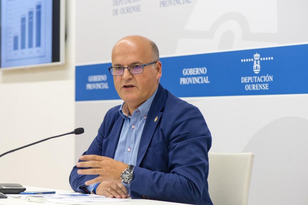 Manuel Baltar, na presentación das liñas básicas dos Orzamentos 2016