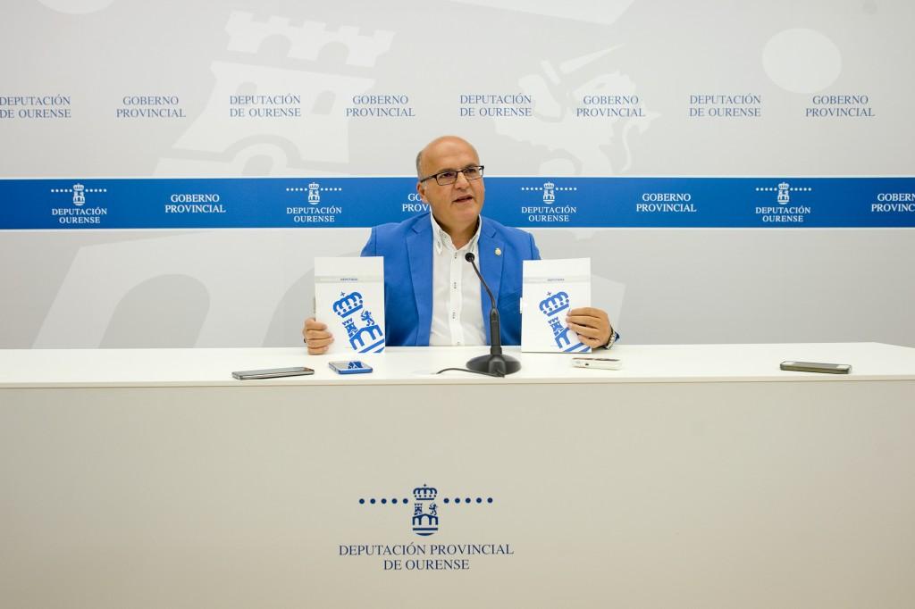 Manuel Baltar, na presentación do Manual do deputado e deputada