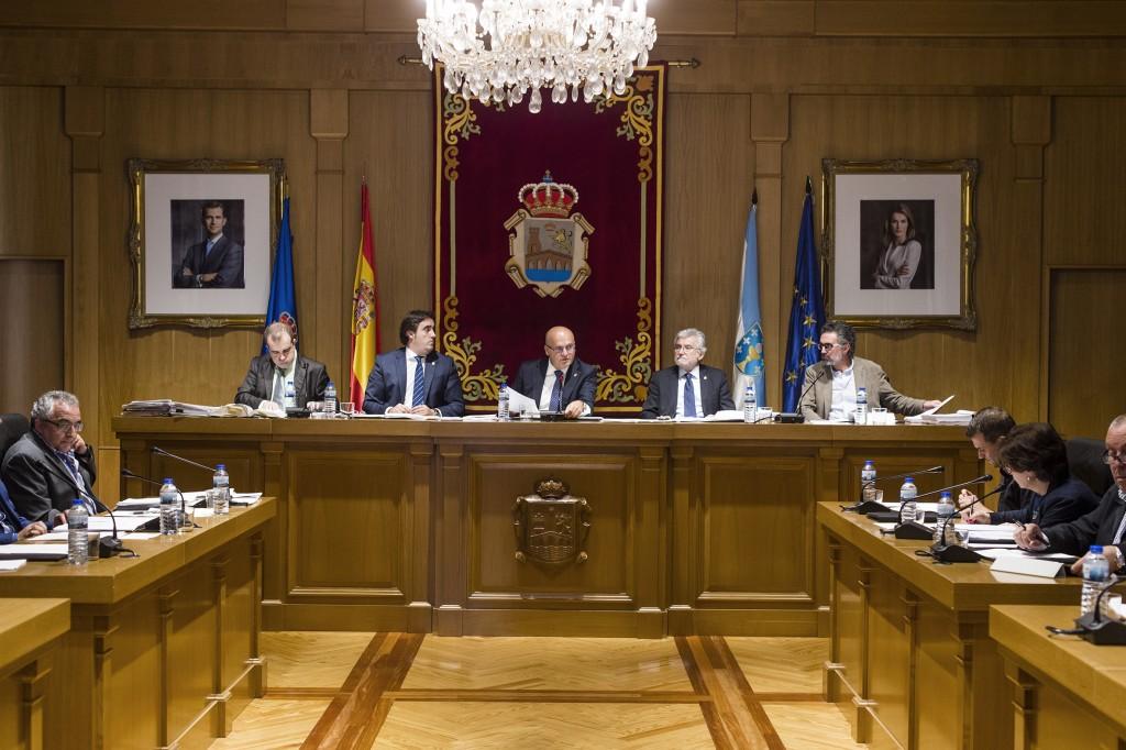 Pleno da Deputación de Ourense setembro 2015