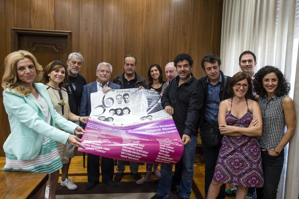 Presentación do XXVI Festival de Teatro Galego