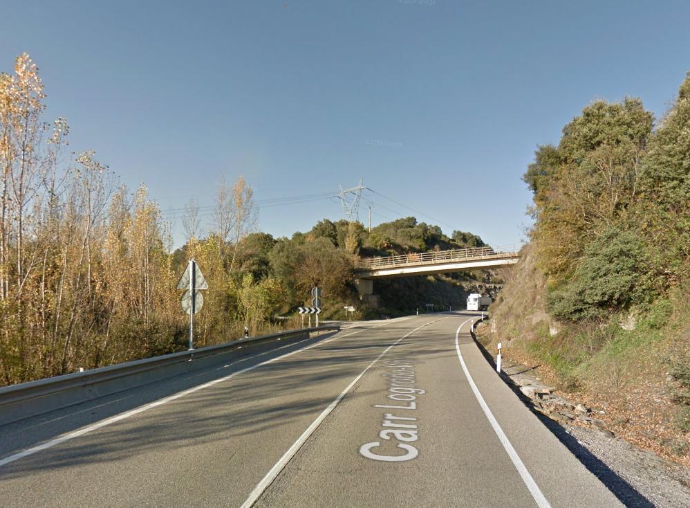 Foto archivo zona donde se ha producido el accidente