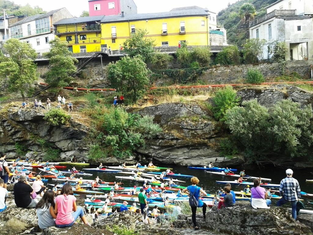 descenso por el rio sil piraguas