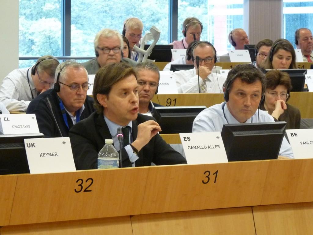 El director general de Relaciones Exteriores y con la UE, Jesús Gamallo, participó en Bruselas en la quinta reunión del año de la comisión de Ciudadanía, Gobernanza y Asuntos Institucionales y Exteriores (CIVEX) del Comité de las Regiones europeo (CdR)