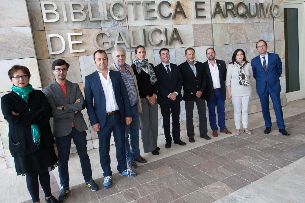 El conselleiro de Cultura y Educación presidió ayer en la Cidade da Cultura la reunión del jurado, integrado por representantes de las principales instituciones culturales y destacados profesionales del sector Autoría: Ana Varela