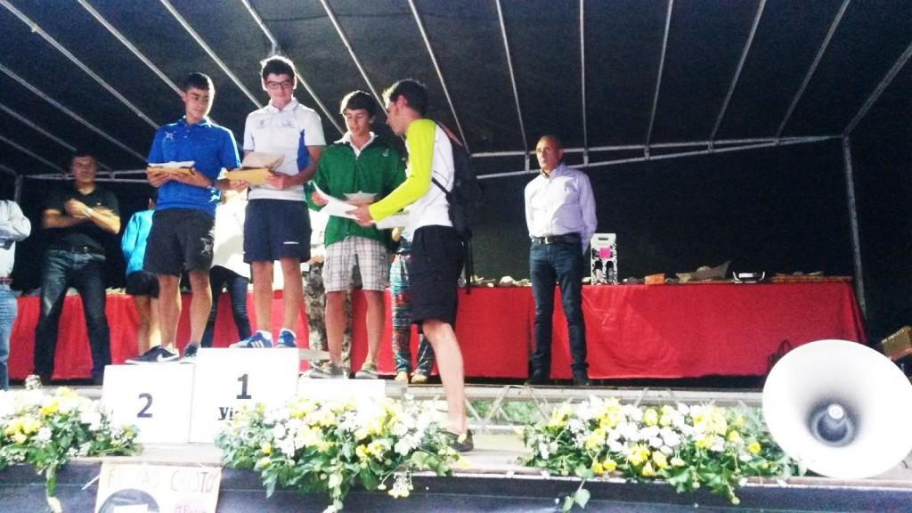 piragüistas premios descenso río Sil