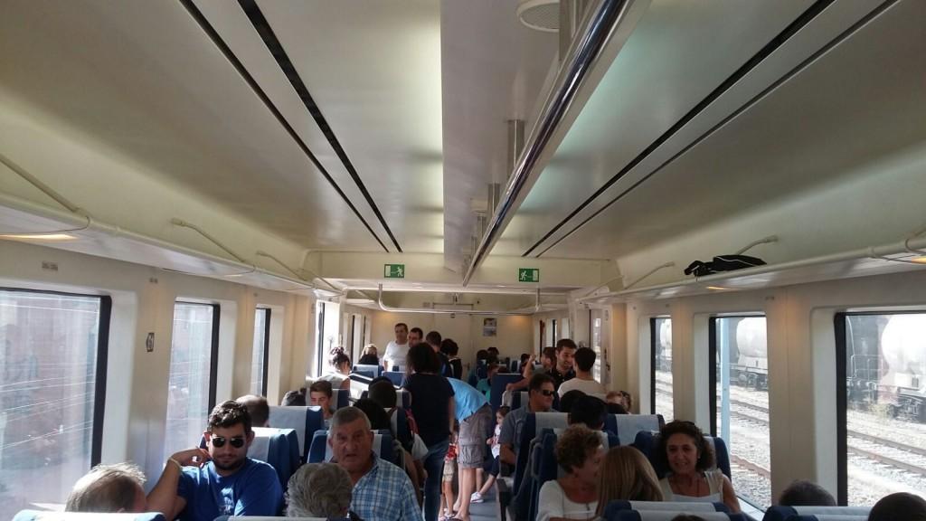 tren turístico para el descenso Sil O Barco