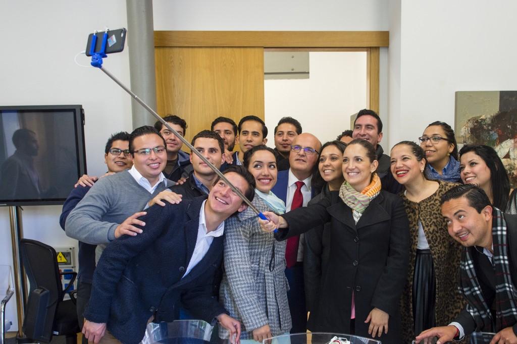 Alumnos da Escola Internacional de Goberno de México visitan a Deputación de Ourense
