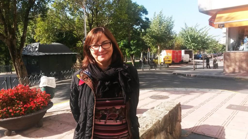 Carmela Docampo Paradelo candidata al Congeso por Podemos