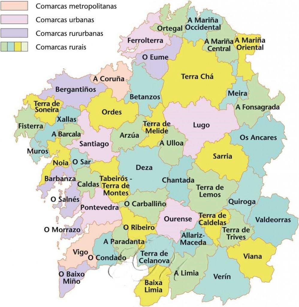 Comarcas Galegas