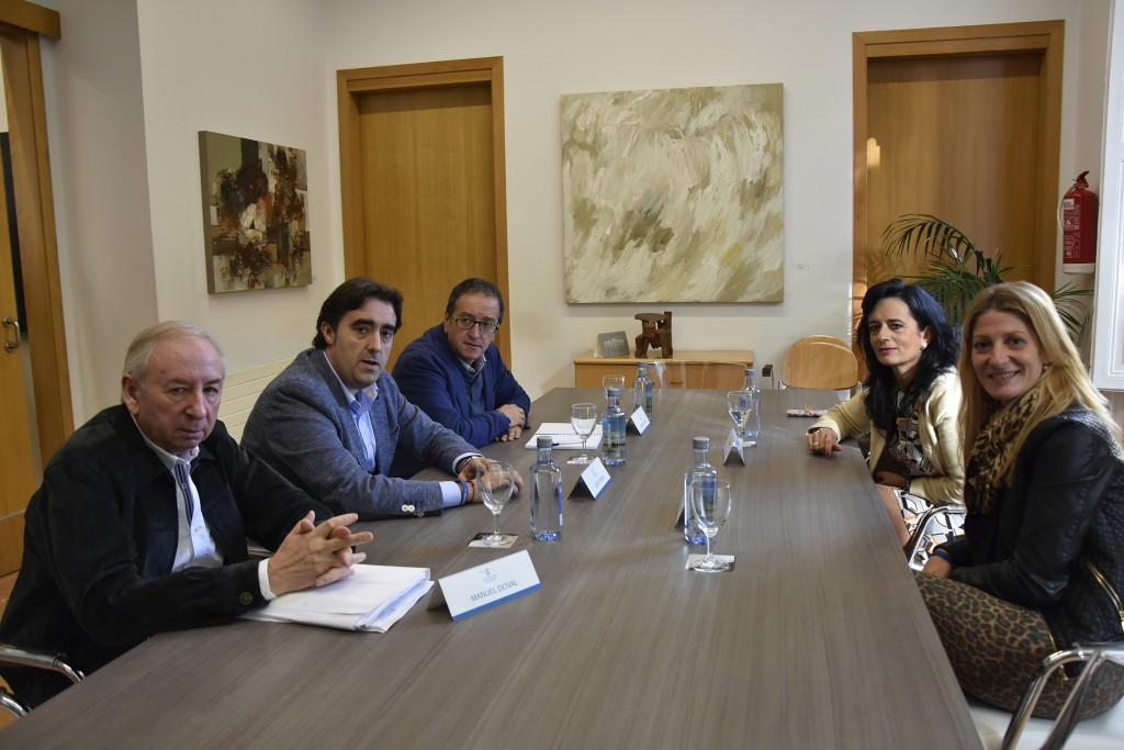 Deputación e o Concello de Ourense analizan a coordinación das actividades culturais da capital