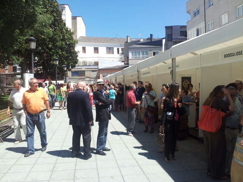 Feira do Viño de Valdeorras en O Barco 2014