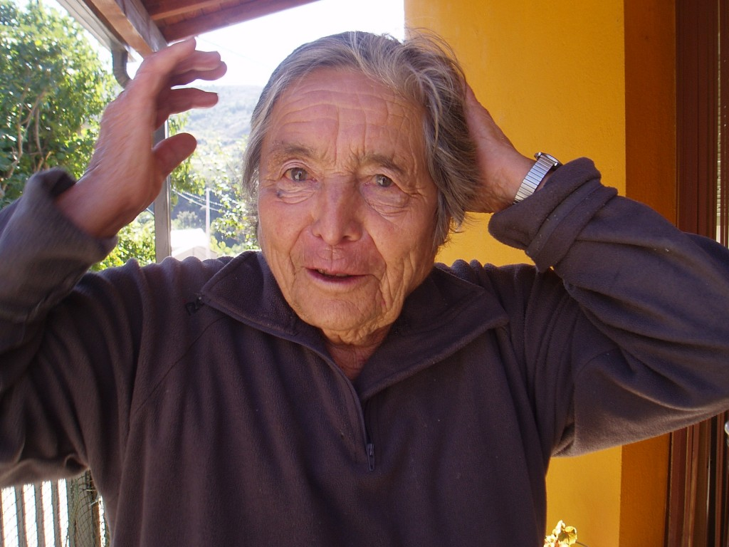 Felicitas Fernández, vecina de Portomourisco