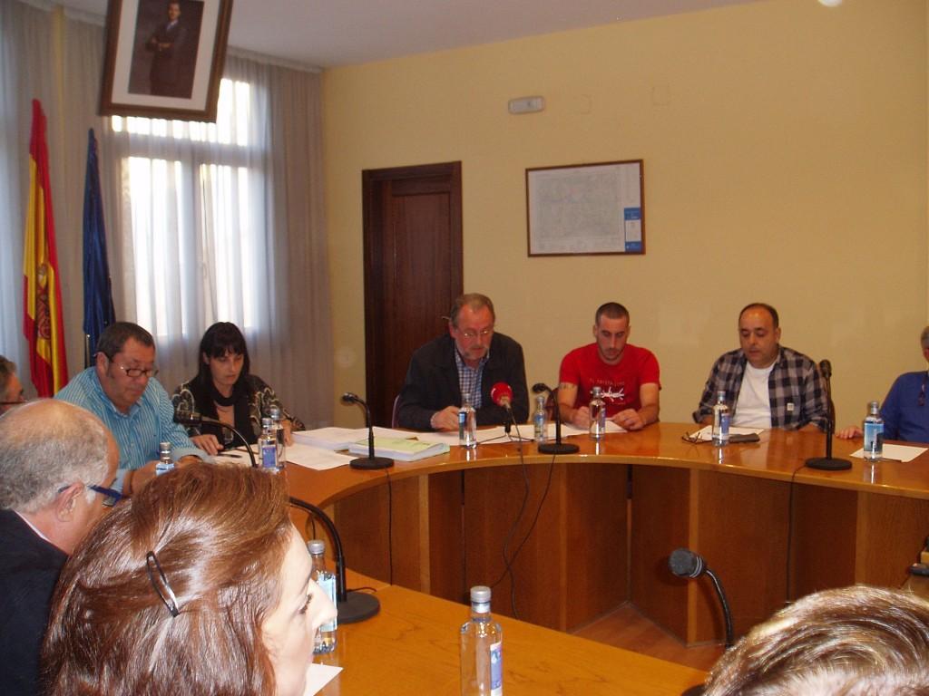 Luis Fernández Gudiña en su intervención