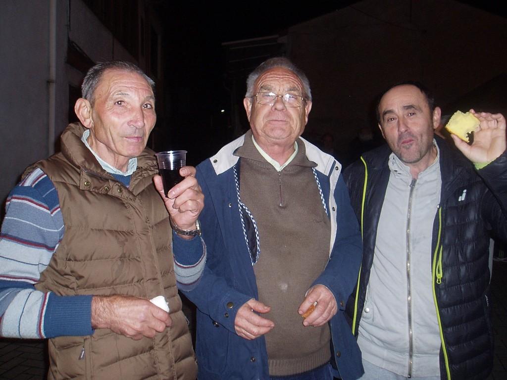 Luis, Ricardo y Tino