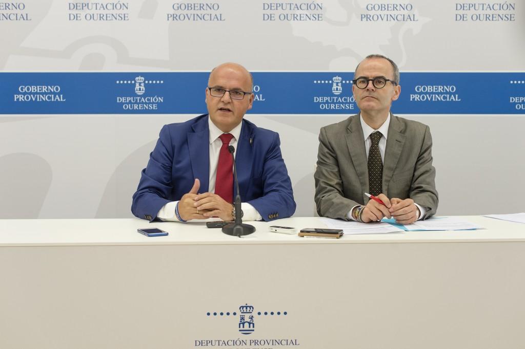 Manuel Baltar e Jesús Vázquez