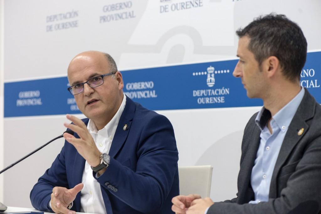 Manuel Baltar e Pablo Pérez