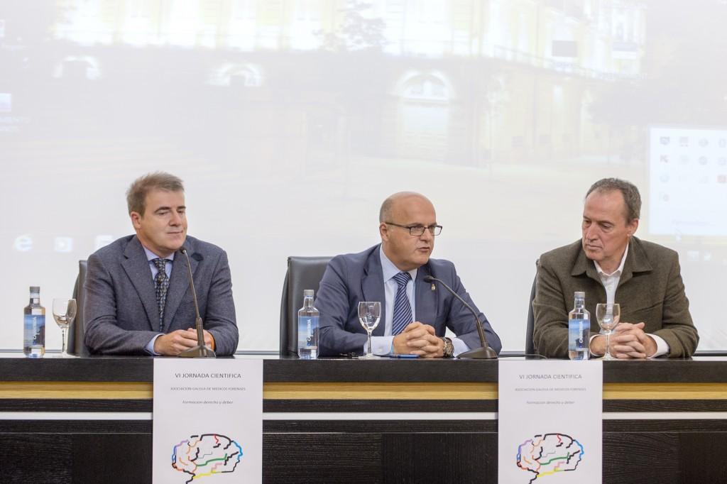 Manuel Prado, Manuel Baltar, e Fernando Serrulla