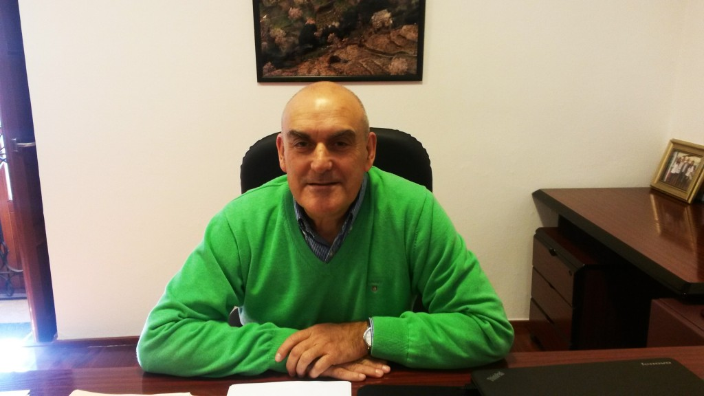 Mino Alonso Alejandre, presidente de Cruz Roja Valdeorras