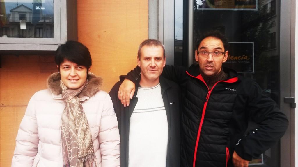 Tres usuarios de Asfaval