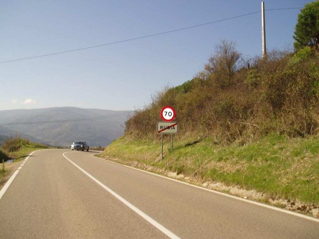 Carretera de Rubiá