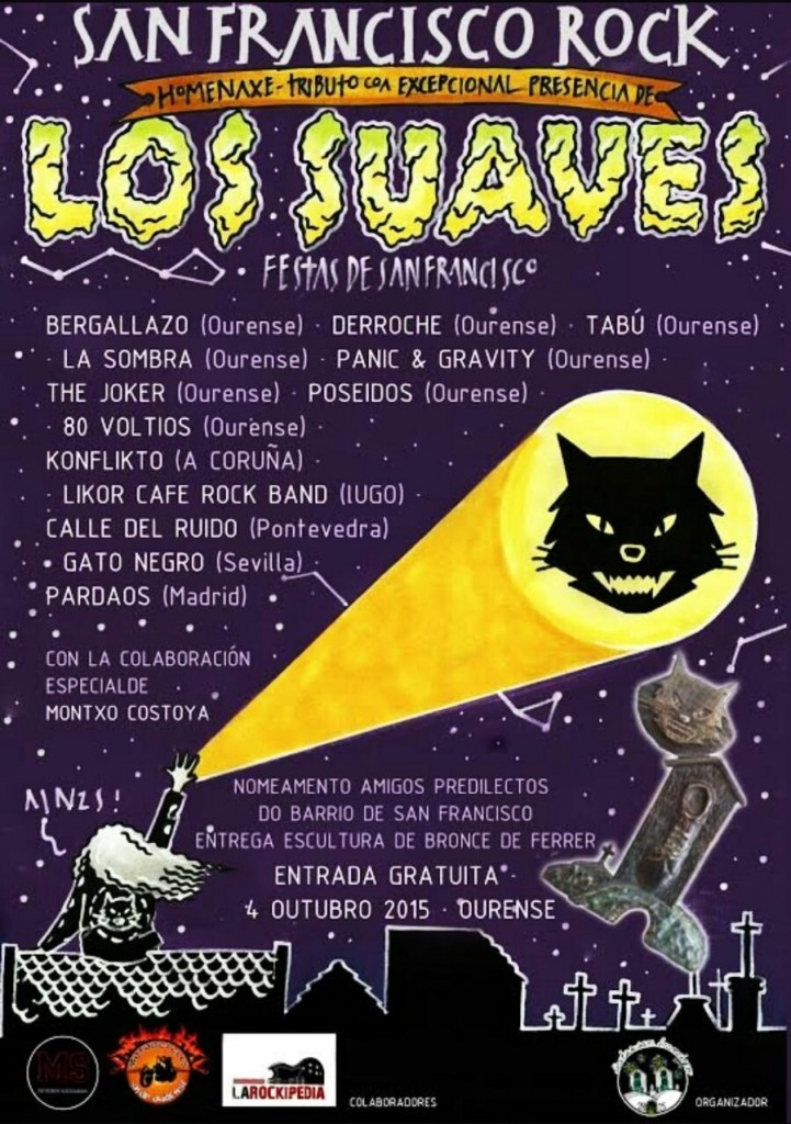 Cartel del San Francisco Rock