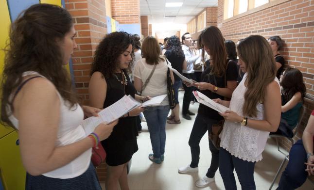 Oposición educación Foto: Archivo