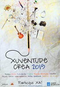 Cartel Xuventude Crea 2015