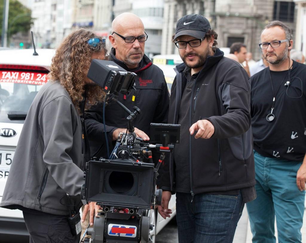 Dani de la Torre (con gorra). Foto: Warner Bros. Pictures España