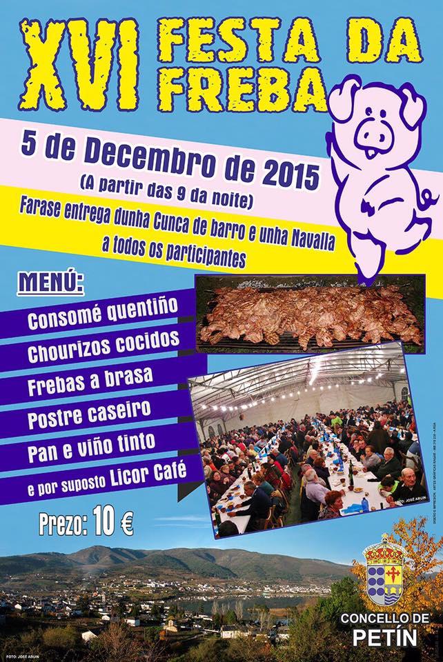 Cartel de la XVI Festa da Freba