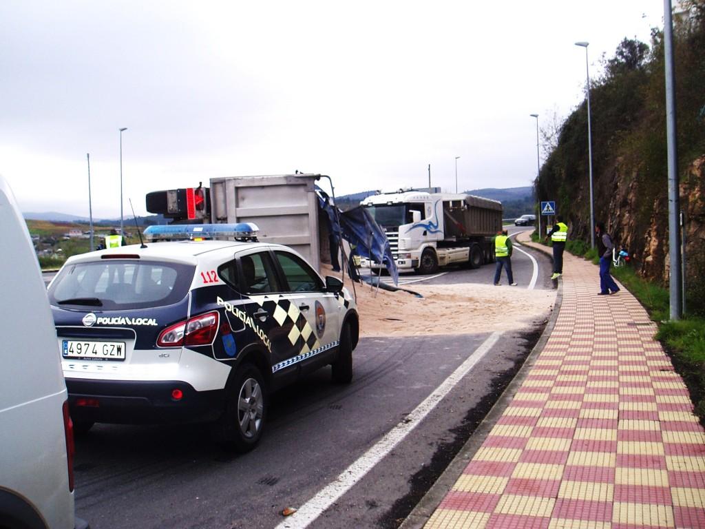 Accidente en A Rúa