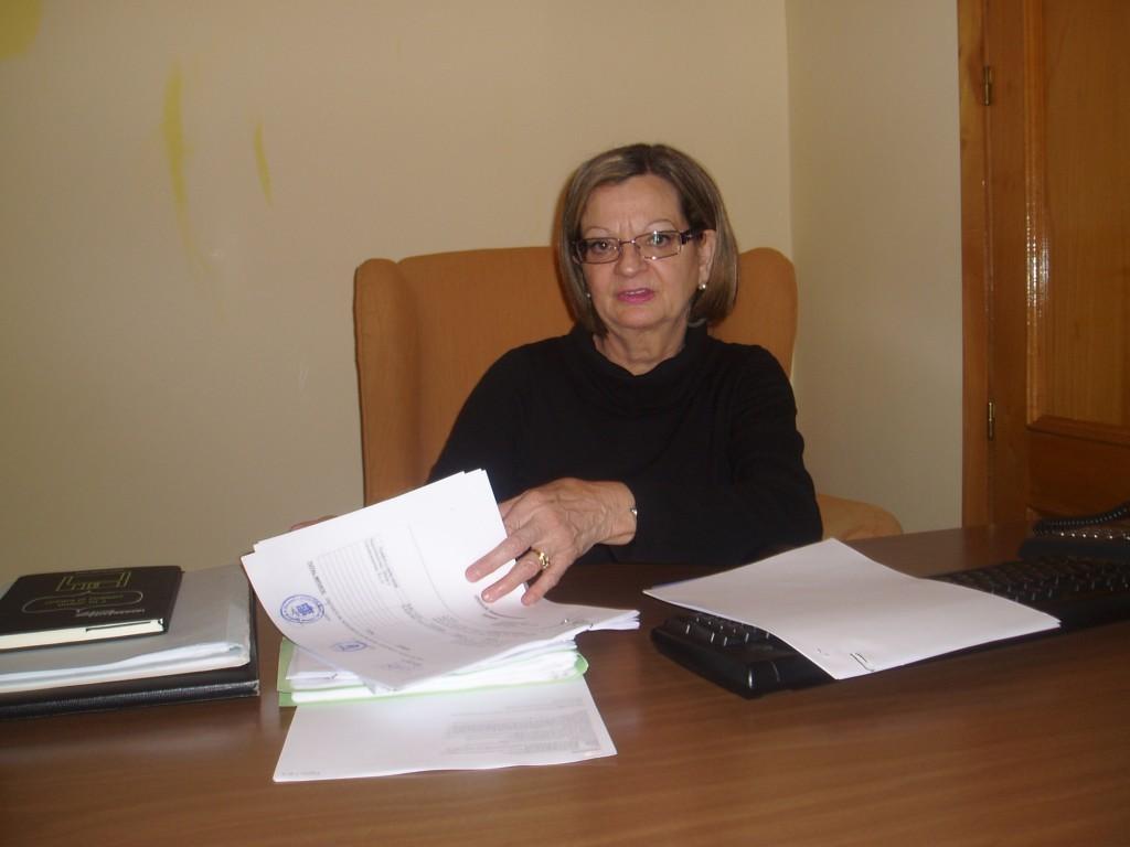 Alcaldesa de Carballeda, María del Carmen González
