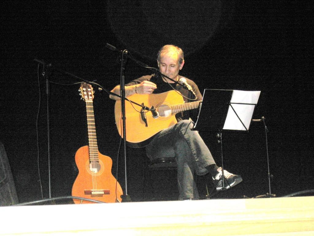 Anxo Rei en el Teatro Lauro Olmo de O Barco