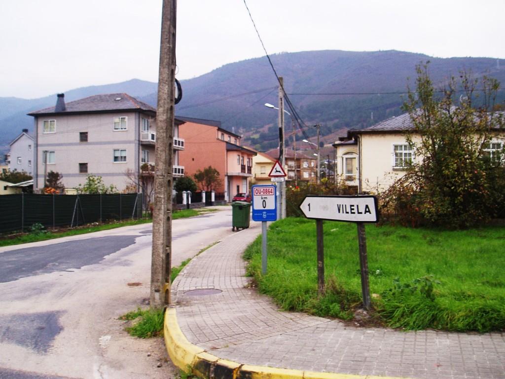 Carretera de Vilela titularidad de la Diputación provincial