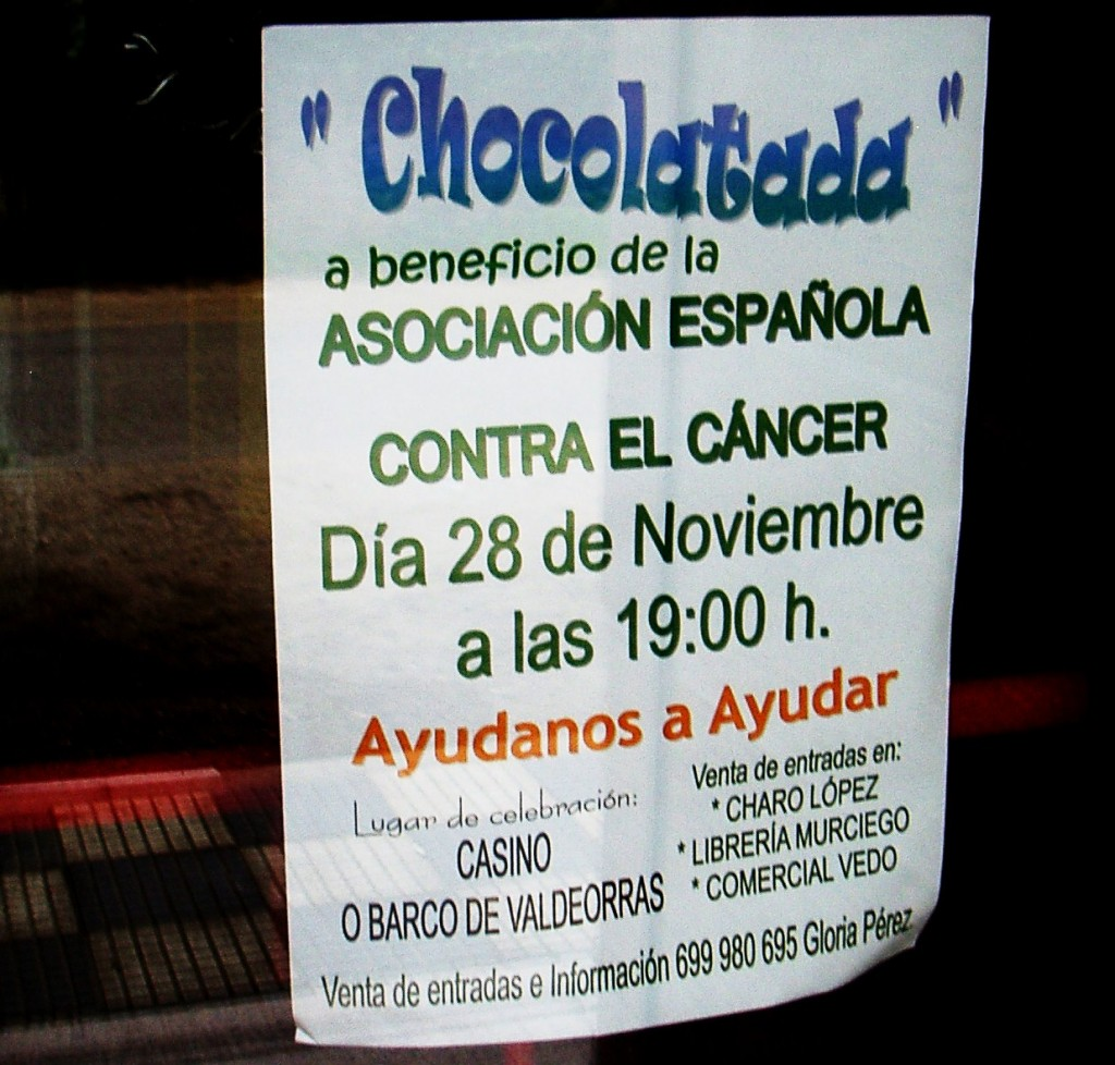 Cartel de la Chocolatada