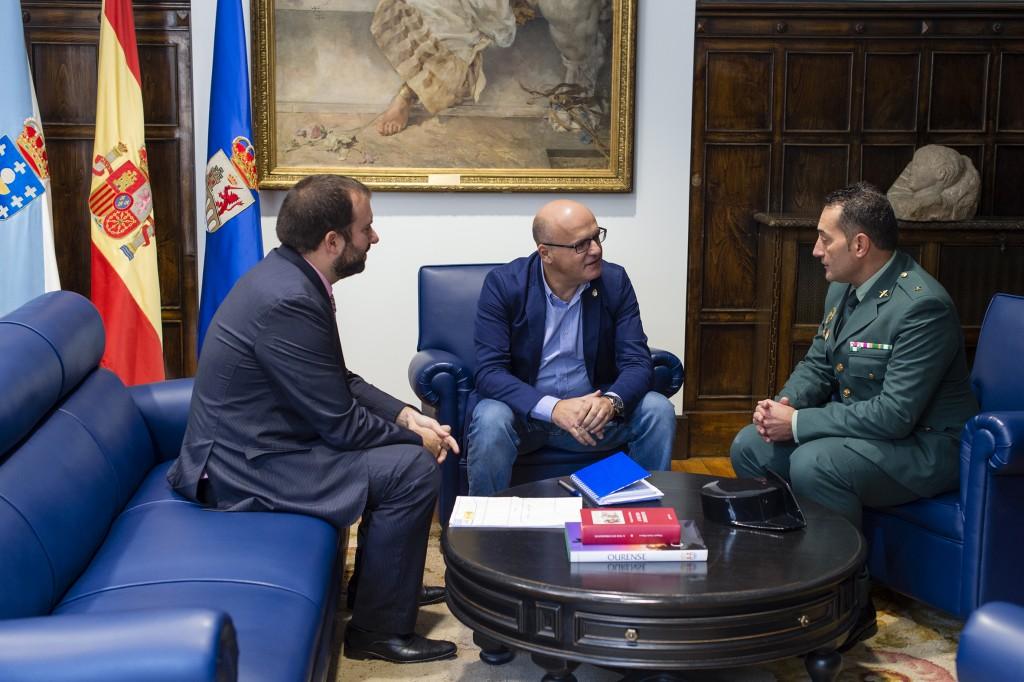 David Llorente, Manuel Baltar e Juan Carlos Nogueiras
