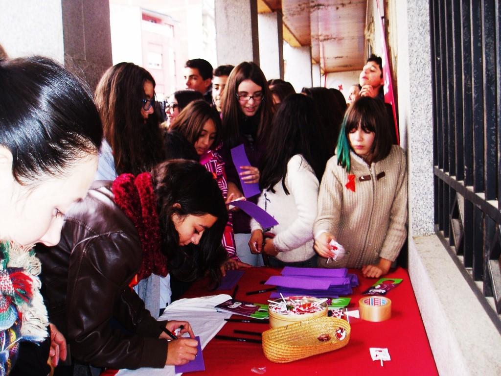 Elaborando lazos contra la violencia de género en A Rúa
