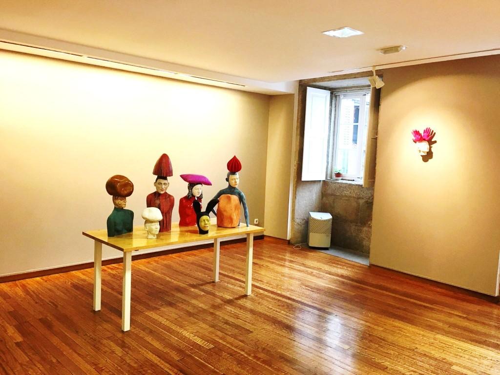 Esculturas de Iván Prieto en la Exposición