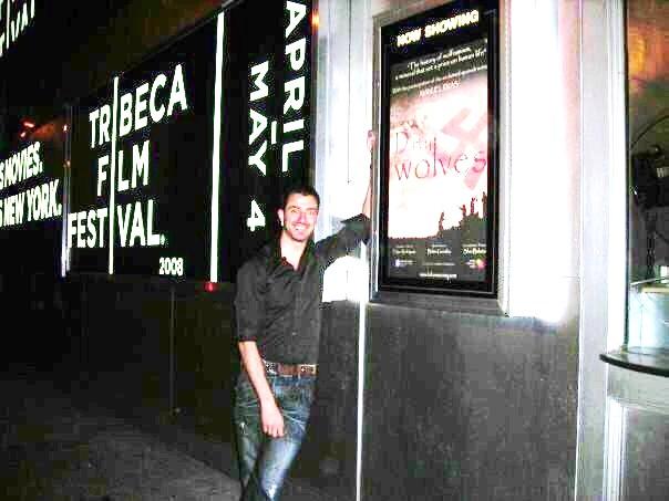 Felipe Rodríguez Lameiro en el Festival Tribeca de Nueva York, en 2008