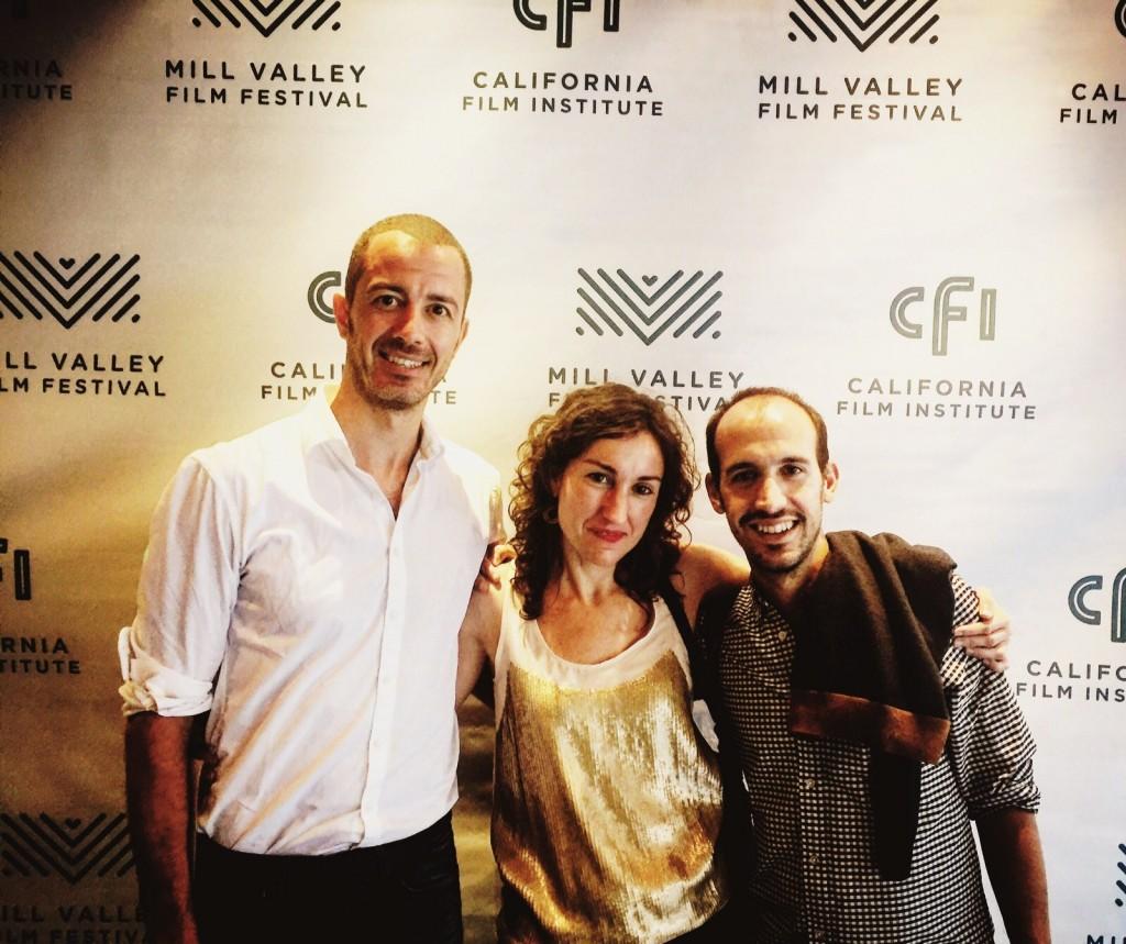 Felipe Rodríguez, Paula Cons _productora ejecutiva- y Simón Casal, director de Lobos Sucios