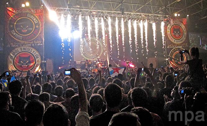 """Los Suaves en su mítico concierto """"29 Años, 9 Meses y 1 Dia"""". Bathory_Vigo"""