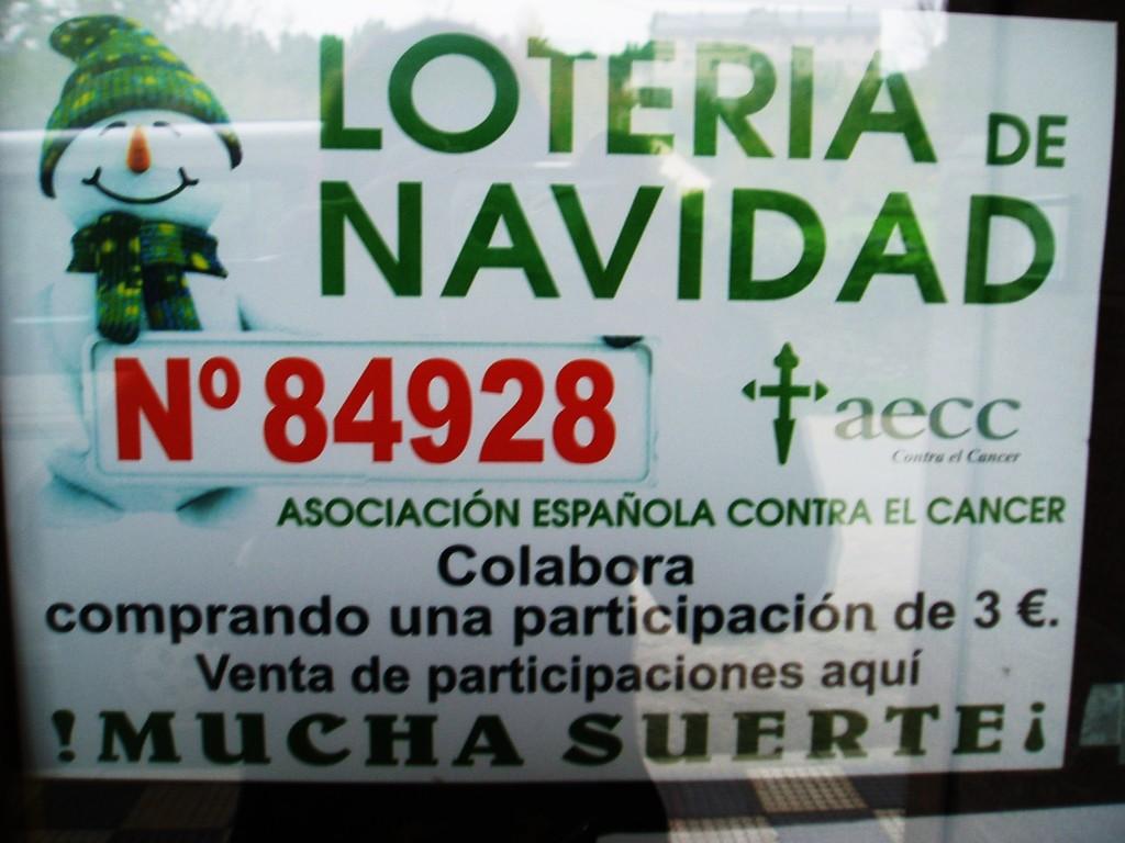 Lotería de Navidad de la Asociación Contra el Cáncer