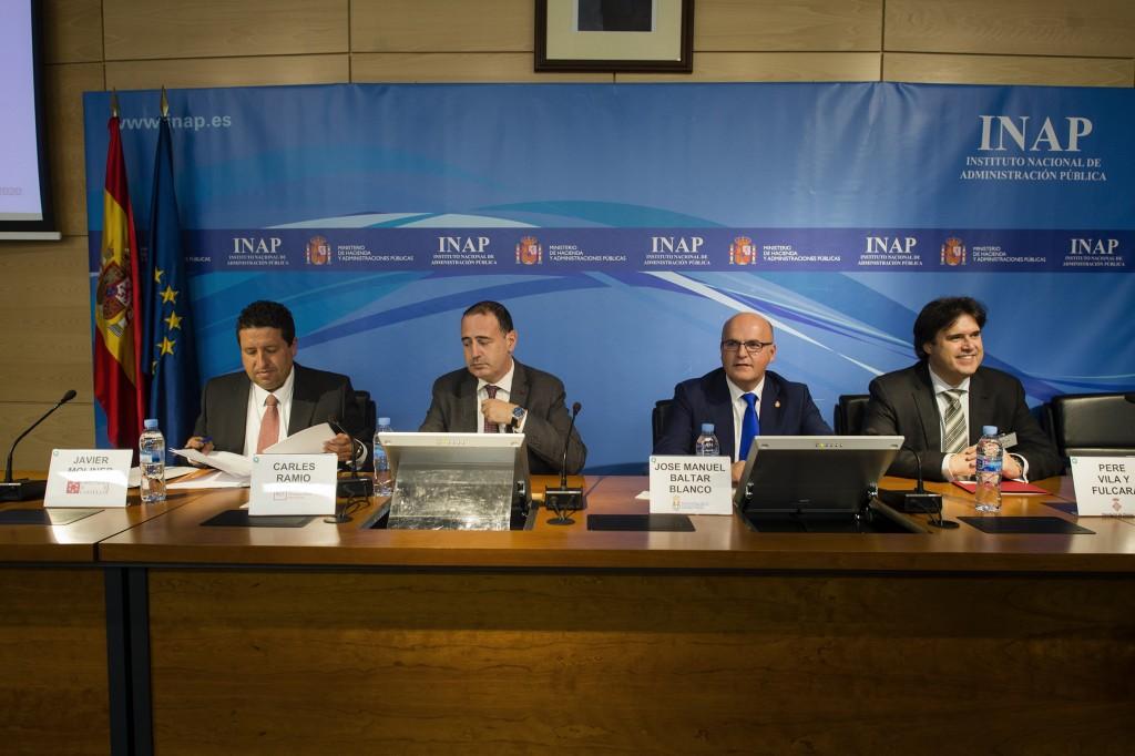 Manuel Baltar, no Foro de Innovación, en Madrid