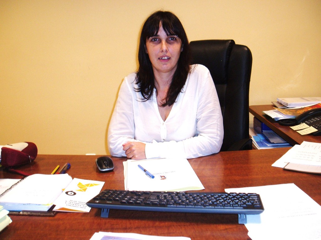María González Albert, regidora de A Rúa
