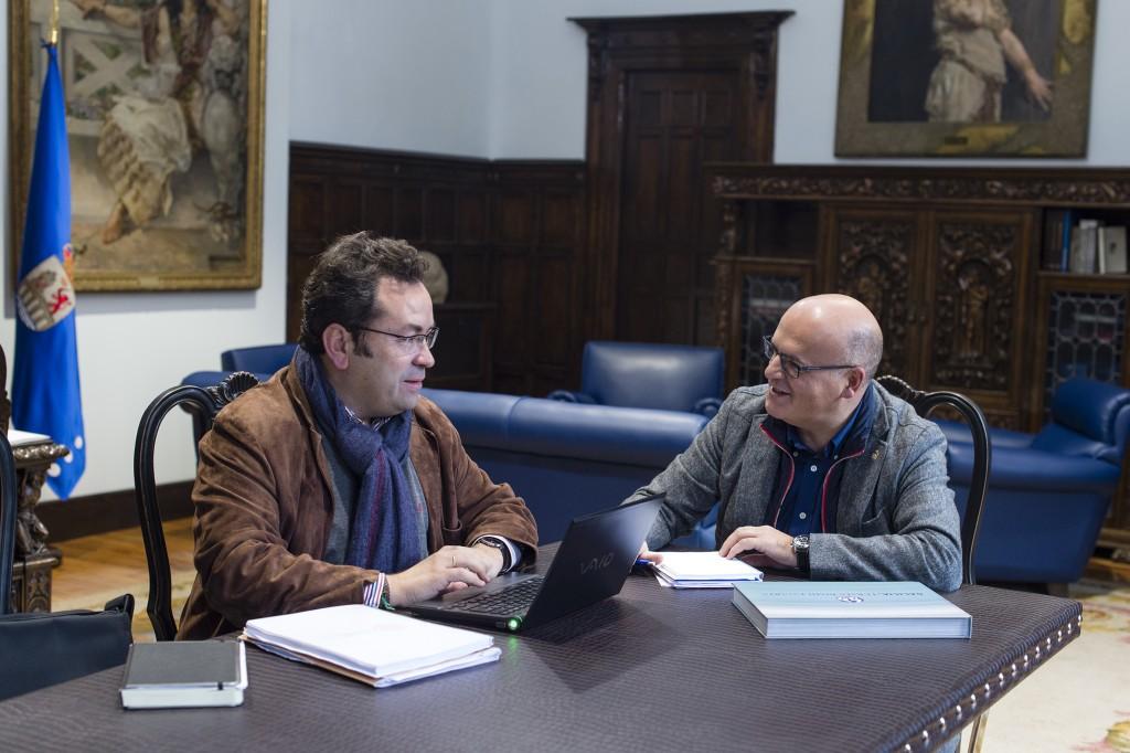 Mario Crecente e Manuel Baltar