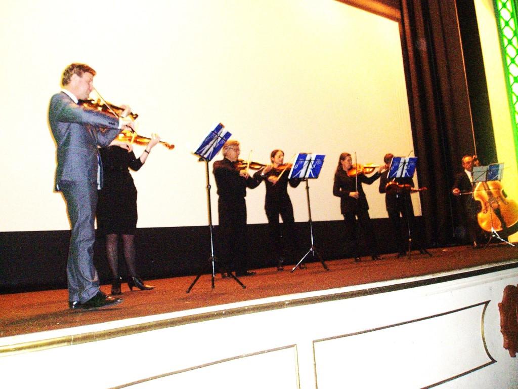 Moriatov con la Orquesta de Cámara de Galicia
