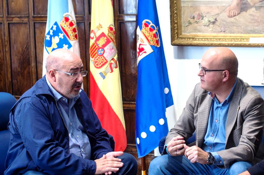 Roberto García e Manuel Baltar